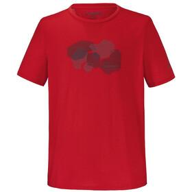 Schöffel Barcelona Camiseta Hombre, neon red